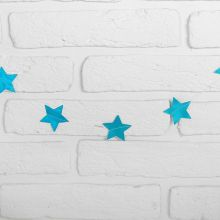 """Гирлянда """"Звёзды"""", 2 м, цвет голубой"""