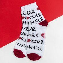 """Сувенирные носочки """"Love you"""", р.36-40"""