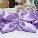Подвязка невесты на ногу