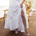 Свадебные колготки Charmante Rete (белый, сетка)