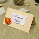 Рассадочные карточки для гостей ручной работы