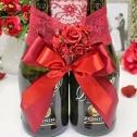 Декоративное украшение для бутылок