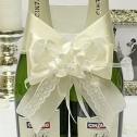 Декоративное украшение для свадебного шампанского