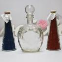 Свадебный набор для песочной церемонии (крас/син)