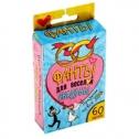 Фанты для веселой свадьбы (60 карточек)