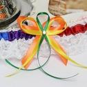 Подвязка на ножку невесты