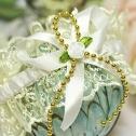 Подвязка для невесты на ногу