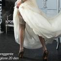 Чулки для невесты Charmante GIORGIONE (слон.кость, 20 den)
