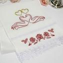 Свадебный рушник для каравая