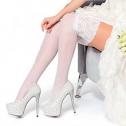 Свадебные чулки Charmante DIADEMA (белый, 20 den)