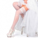 Чулки для невесты Charmante ROMANCE (белый, 20 den)