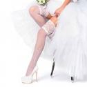 Свадебные чулки Charmante HONEYMOON (белый, 20 den)