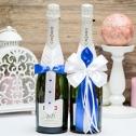 Набор украшений на шампанское
