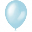Шар круглый (13 см) (голубой)