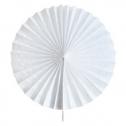 Веер из бумаги для декора (25 см, 1 шт)