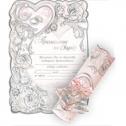 Свадебное приглашение-свиток (#624)