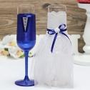 Бокалы свадебные ручной работы