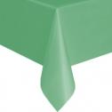 Однотонная скатерть для праздника (зеленая, 137х183 см)