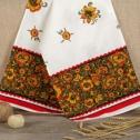 Свадебный рушник в традиционном стиле