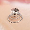 Спиральки для свадебной прически