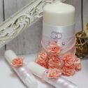 Свадебные свечи для молодоженов