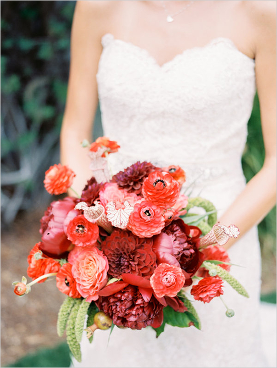 redweddingbouquet