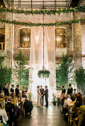 drapery-greenery-wedding-ceremony