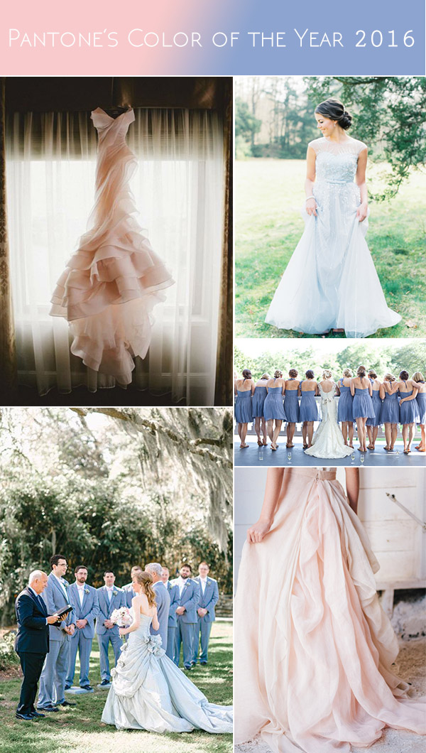 pantones-color-of-the-year-2016-wedding-dresses-and-bridesmaid-dresses