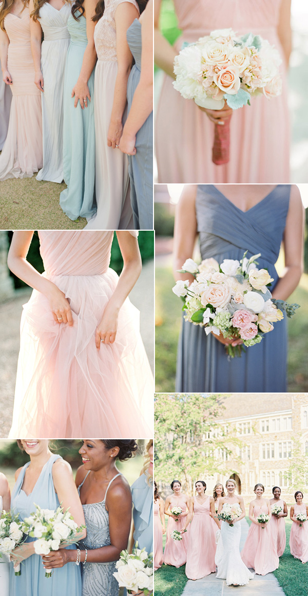 shades-of-pink-and-blue-pantones-2016-colors-bridesmaid-dresses