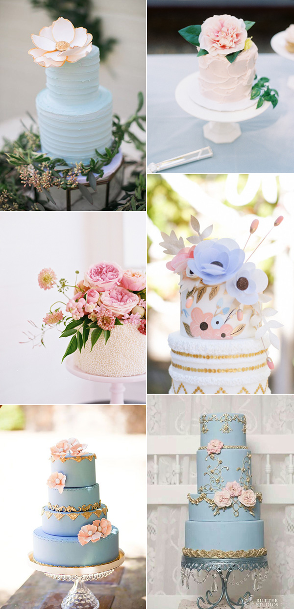 shades-of-pink-and-blue-pantones-2016-colors-inspired-wedding-cakes
