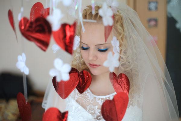 Свадебные аксессуары на празднике Игоря и Марии