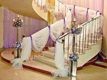 как украсить подъезд на свадьбу