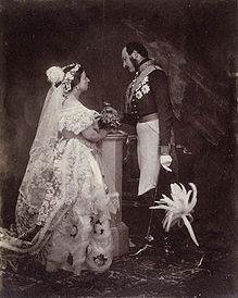Белое свадебное платье королевы Виктории