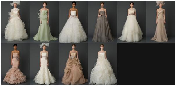 Эволюции свадебного платья